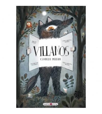 libro villanos de maeva
