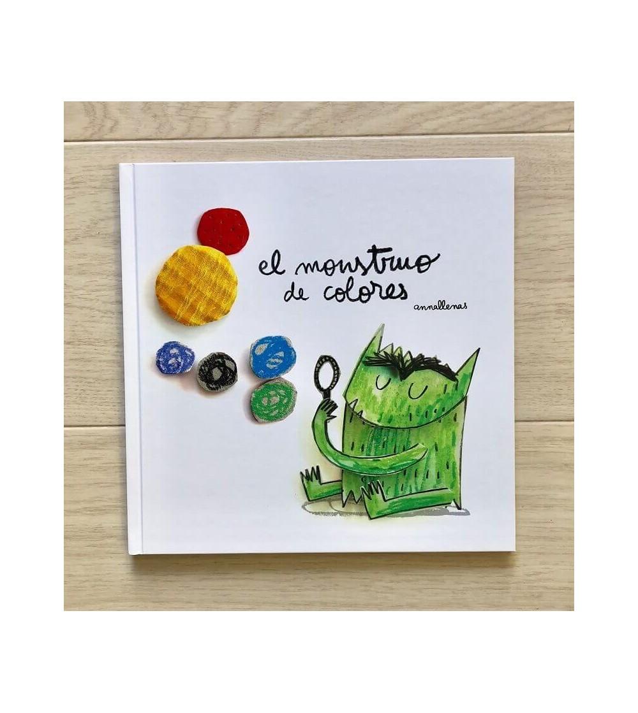 el monstruo de colores libro infantil