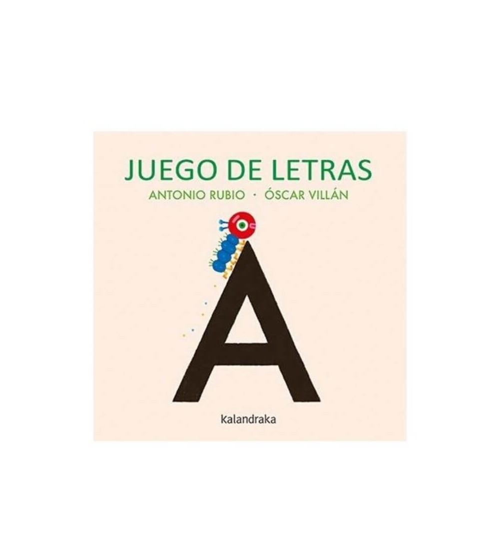 libro juego de letras kalandraka