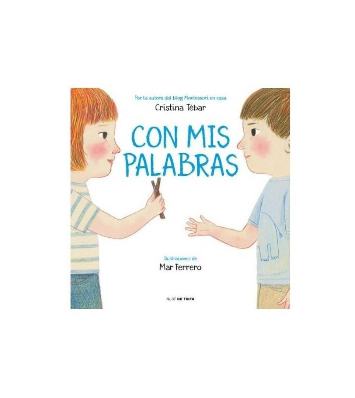 libro infantil con mis palabras
