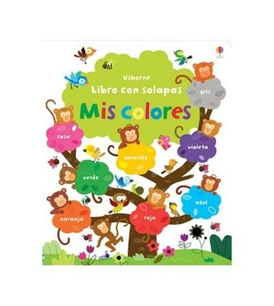 libro mis colores con solapas