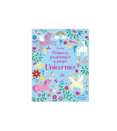 primeros pasatiempos unicornios