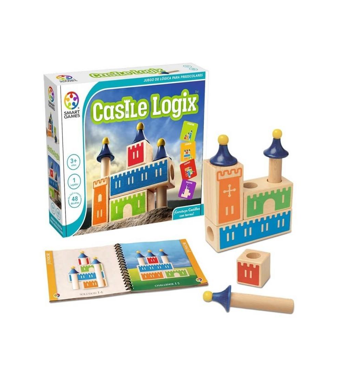 castle logix juego logica smartgames