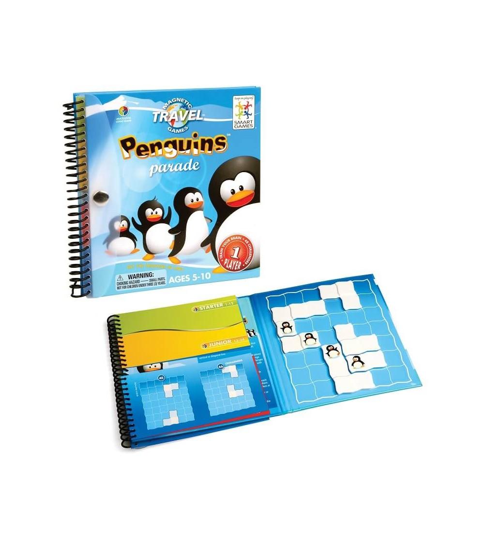 penguins juego logica smartgames