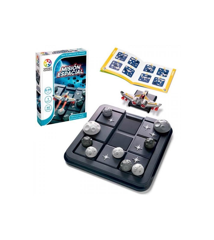 mision espacial juego logica smartgames