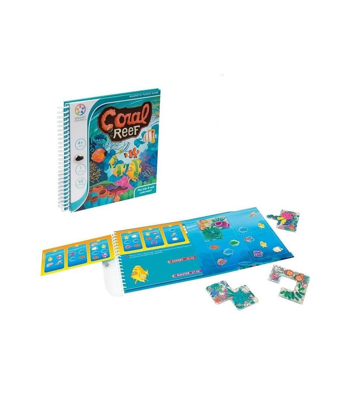 coral reef juego logica smartgames