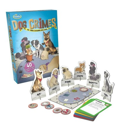 dog crimes juego logica thinkfun