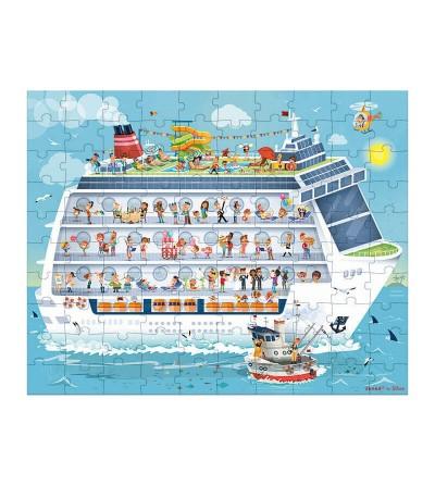 puzzle barco crucero dia