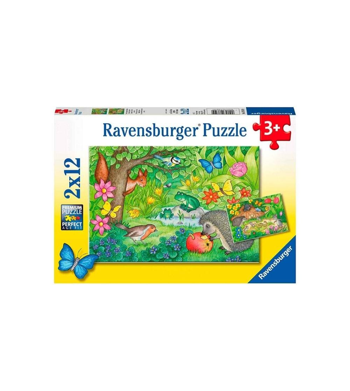 puzzle animales  ravensburger