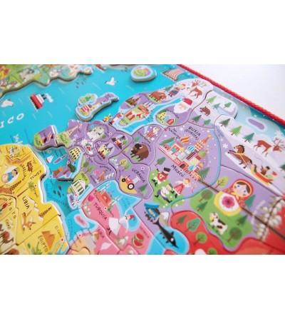 puzzle mundo magnetico contenido