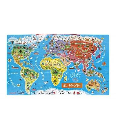 puzzle el mundo magnetico janod