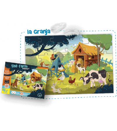 puzzle la granja