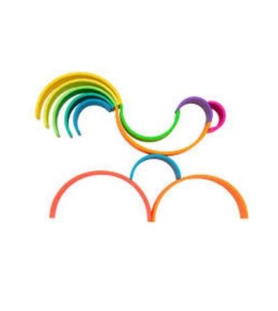arcoiris silicona dena formas