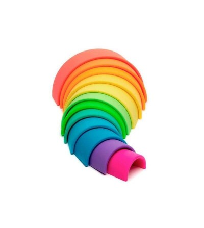 arcoiris silicona dena colores neon