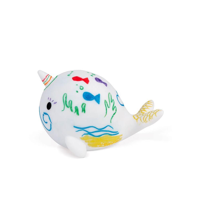 colorea la ballena janod