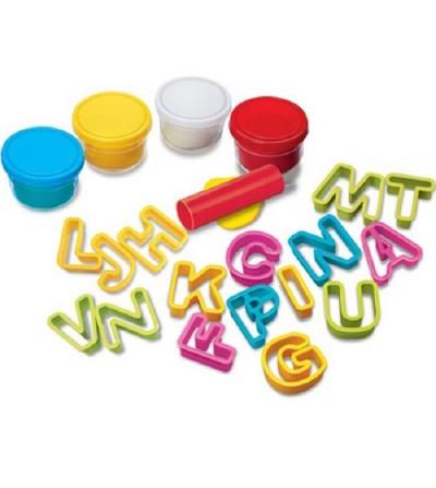 plastilina alfabeto 4M