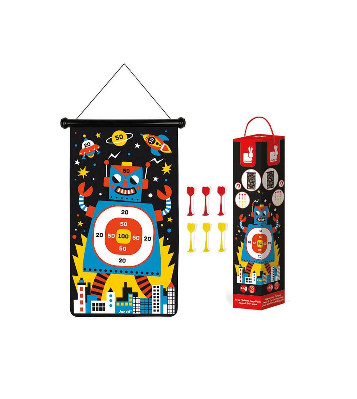 juego dardos magneticos robots janod
