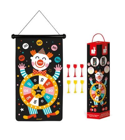 juego dardos magneticos circo janod