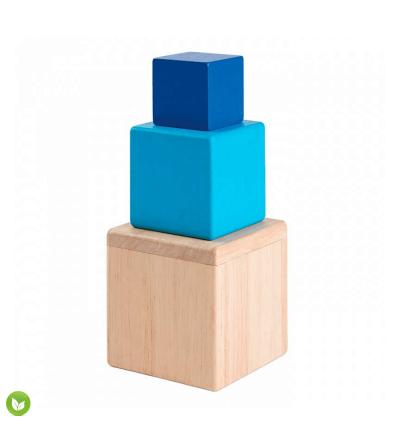 cubos encajables juguete madera