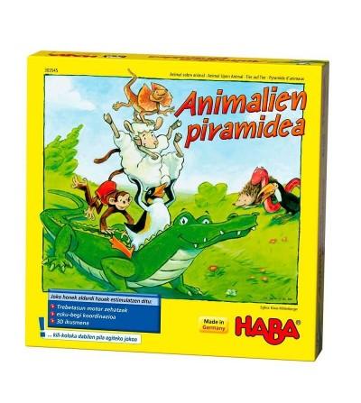 animalien piramidea juego haba