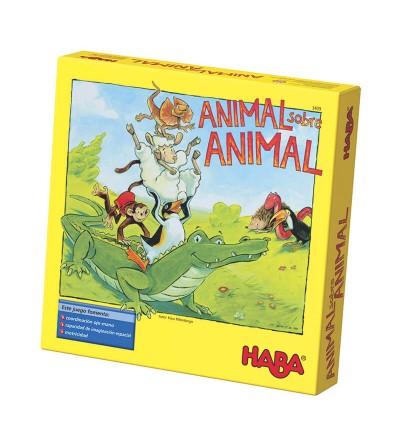 juego animal sobre animal haba