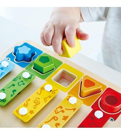 juguete xilofono clasificador formas