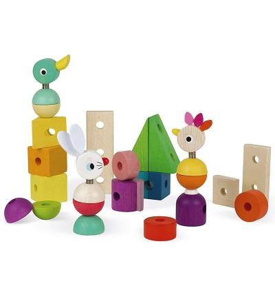 piezas juguete tren zigolos janod