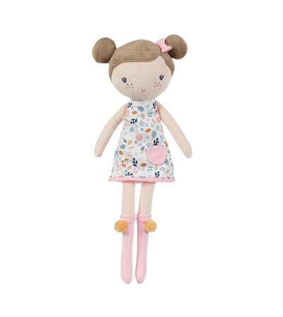 muñeca trapo mediana rosa little dutch