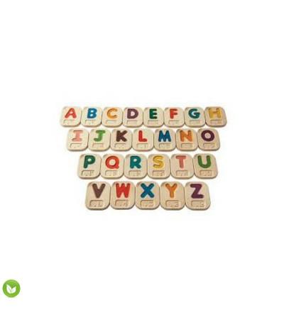 letras mayusculas braille