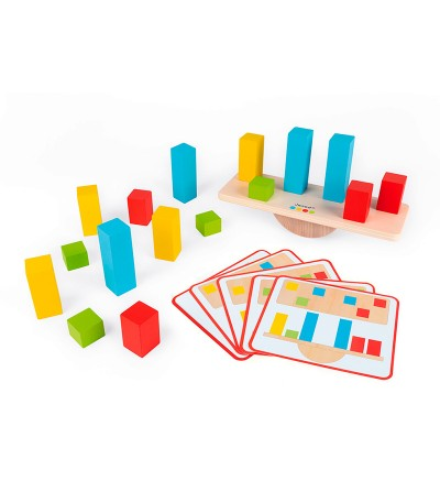 aprender los pesos juego janod