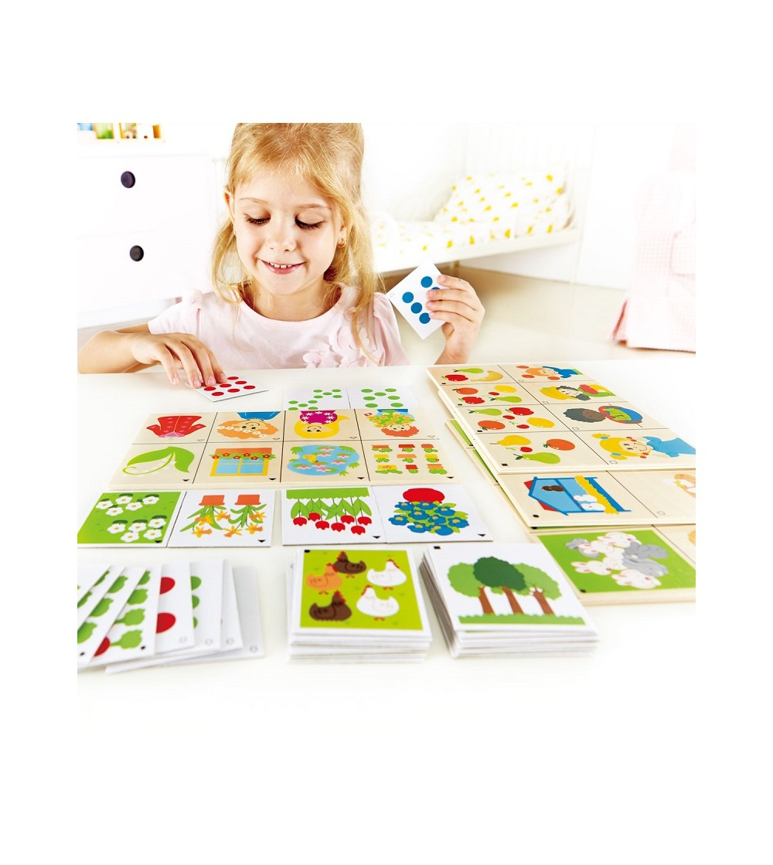 juego educativo contando temas