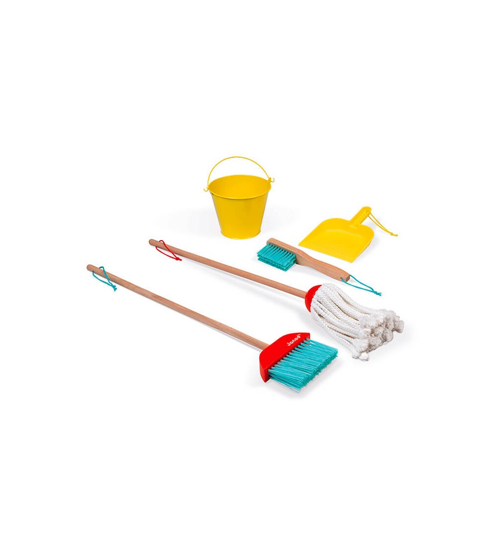 juguete set de limpieza janod