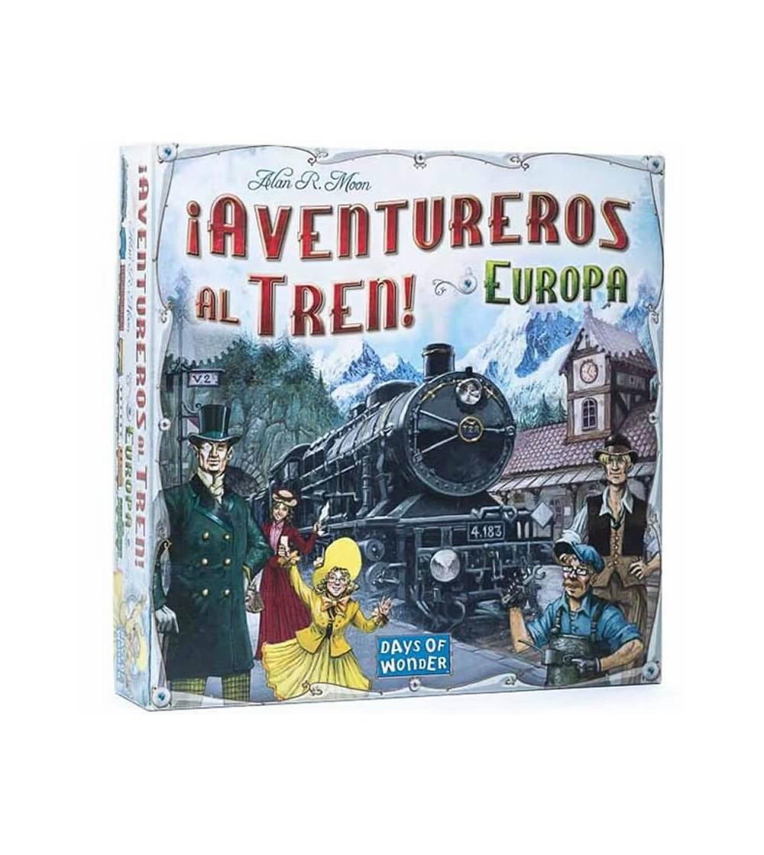 juego aventureros al tren europa