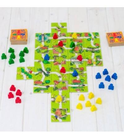 como jugar carcassonne junior