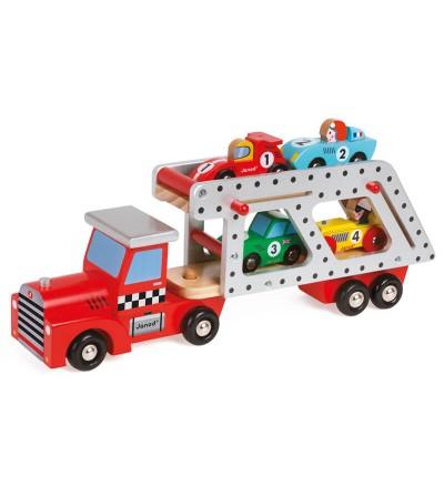 camion porta coches janod