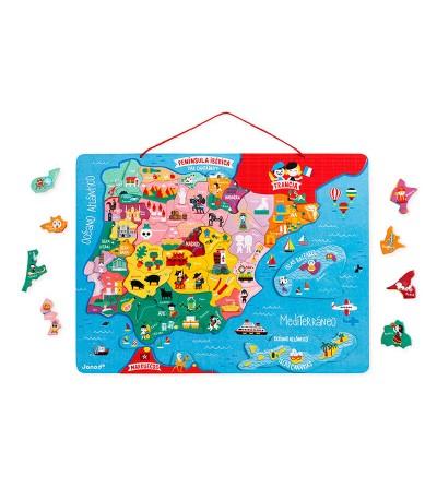 piezas mapa españa janod