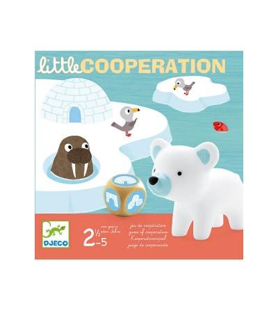 juego little cooperation djeco