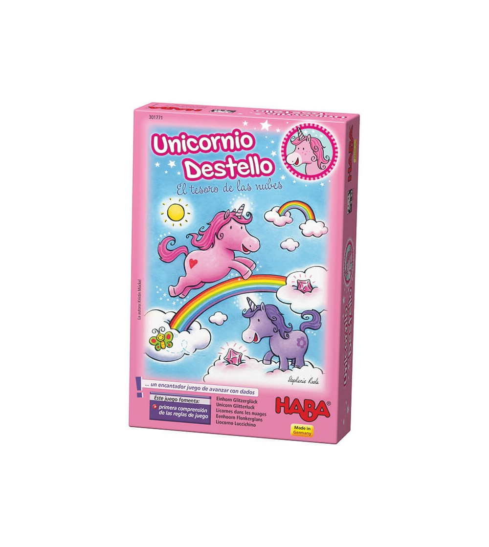 primeros juegos unicornio destello haba