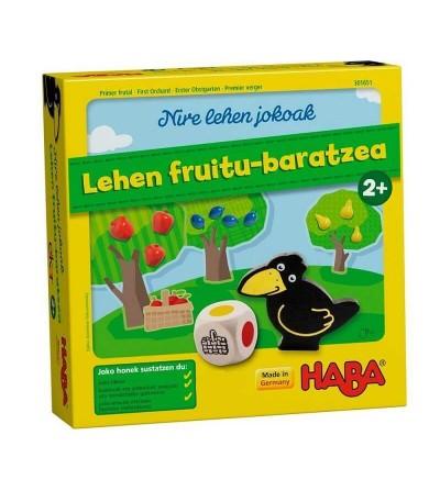 juego lehen fruitu baratzea haba