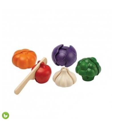 vegetales colores plantoys