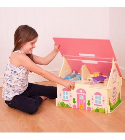 como jugar casita de muñecas