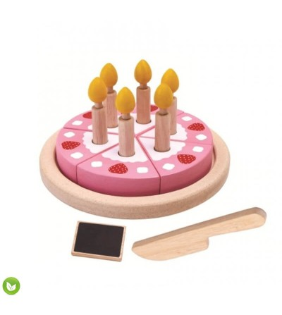 tarta de cumpleaños juguete plantoys