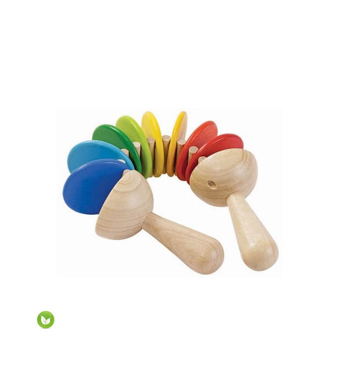 juguete musical clatter plantoys