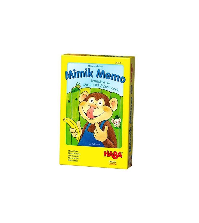 juego praxis mimik memo haba