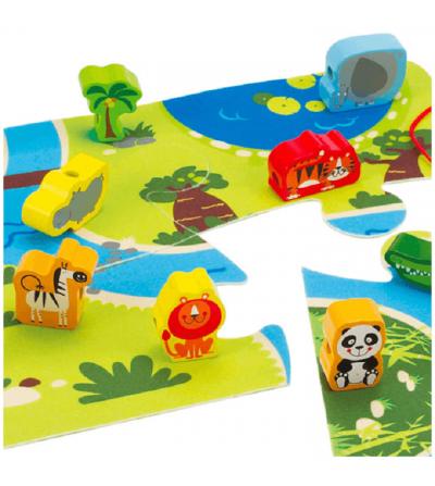 contenido juego safari hape