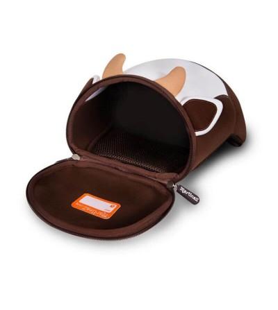 interior mochila vaca