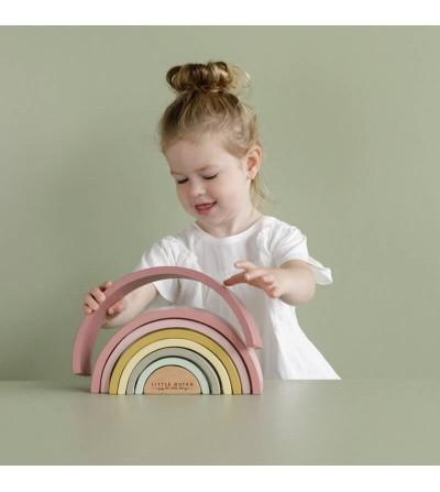 como jugar arcoiris colores rosas
