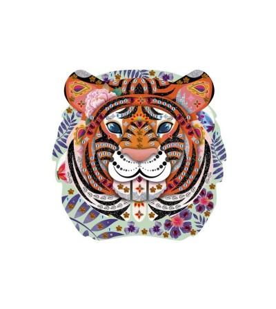 strass purpurina tigre