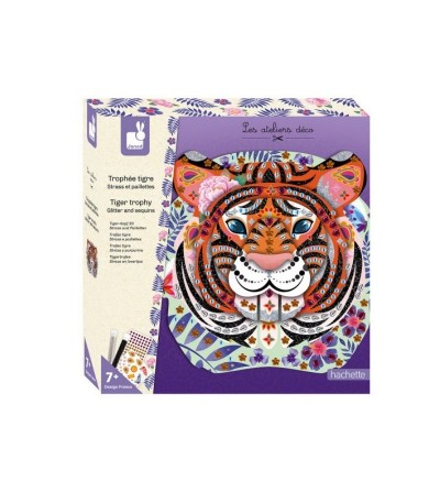 strass purpurina trofeo tigre janod