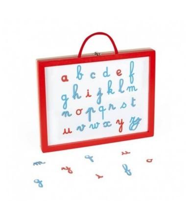 pizarra blanca maletin letras